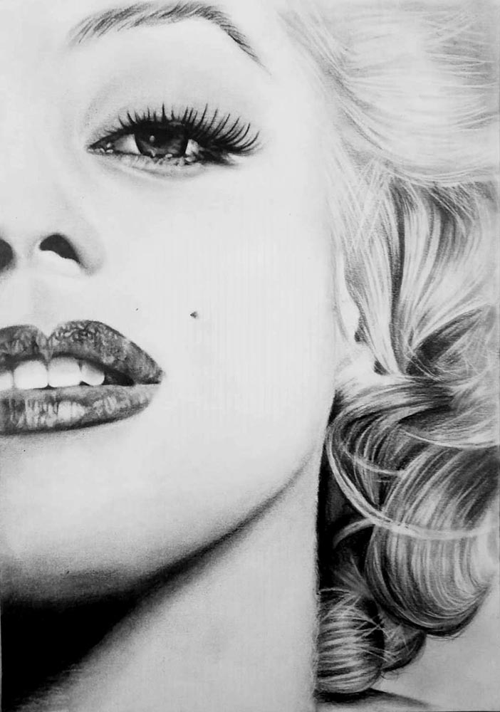 stampa artistica marylin monroe